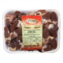 500 гр. Пилешки сърца замразени тарелка