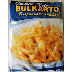 1 кг. Бланширани картофи