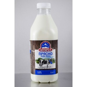 1 л. прясно мляко 3.7% Олимпус