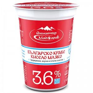 400 гр. кисело мляко 3.6% Маджаров