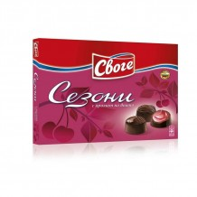 160 гр. шоколадови бонбони Сезони вишна Своге