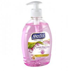 400 мл. Течен сапун MEDIX Lovely Magnolia