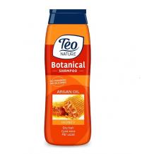 400 мл. Шампоан Teo Nature Botanical Арганово масло и мед