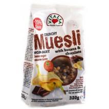 Мюсли с банан и шоколад 320 гр. Виталия