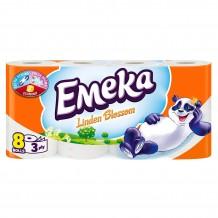 8 бр. тоалетна хартия  Emeka Linden Blossom