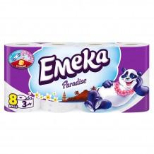 8 бр. тоалетна хартия Emeka Paradise