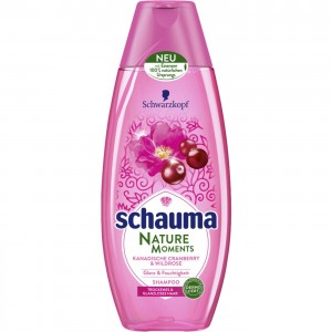 400 мл. шампоан Schauma Nature Moments Cranberry & Wild Rose
