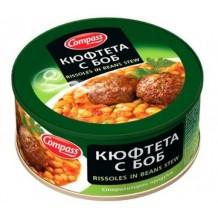 300 гр. Кюфтета с боб Компас