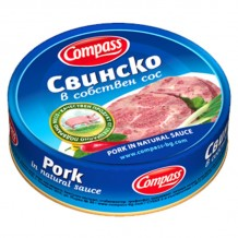 180 гр. свинско собствен сос Компас