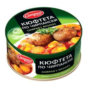 300 гр. кюфтета по чирпански консерва Компас