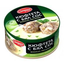 300 гр. кюфтета с бял сос консерва Компас