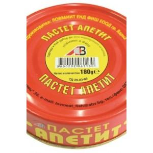 180 гр. Пастет Апетит консерва