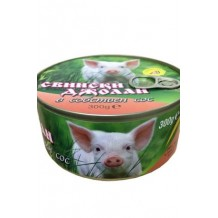 300 гр. Свински джолан в сос консерва