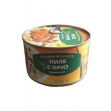 410 гр. Пиле с ориз консерва