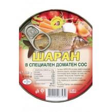 160 гр. Шаран в доматен сос консерва