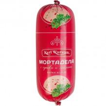 750 гр. Мортадела с чушка и маслини Мушев