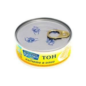 170 гр. Риба Тон с късчета в олио консерва