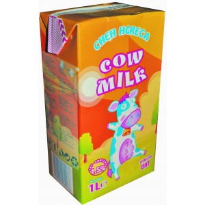 1 л. Прясно мляко Брик 1,5% Чех