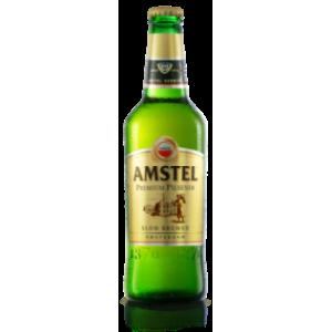 500 мл. бира Amstel стъкло