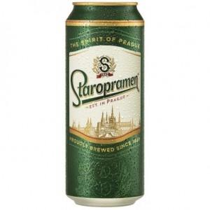 500 мл. бира Старопрамен кен