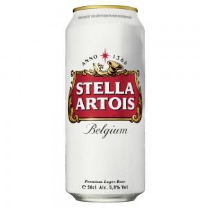330 мл. бира Стела Артоа кен