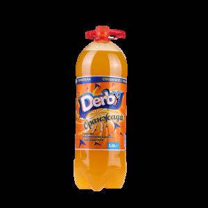 3 л. газирана напитка оранжада Дерби