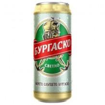 500 мл. бира Бургаско кен