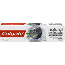 75 мл. паста за зъби Colgate natural extracts charcoal white