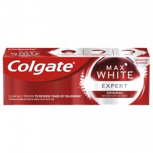 75 мл. паста за зъби Colgate max white expert original