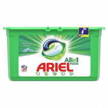 39 бр. капсули за пране Ariel 3in1 Pods Mountain Spring