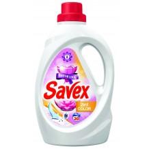 1.1 л. Течен перилен препарат Savex Parfum Lock 2в1 color