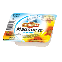 125 гр. Майонеза Млечна Олинеза
