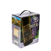 3 л. Вино Мерло Търговище