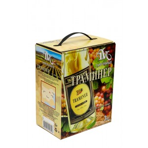 3 л. Вино Траминер Търговище