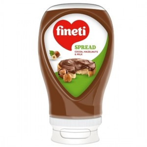 380 гр. Течен шоколад Fineti Туба