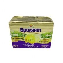 250 гр. Маргарин БРИЛЯНТ с масло кубче