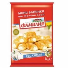 1 кг. Банички от точени кори ФАМИЛИЯ със сирене