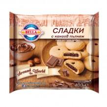 400 гр. БЕЛЛА Сладки с какаов пълнеж