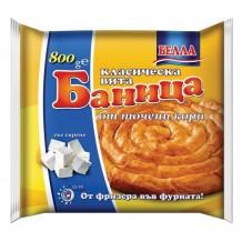 800 гр. Баница вита класическа БЕЛЛА със сирене