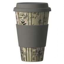 400 мл. Еко чаша от бамбук Панди BAMBOOCUP
