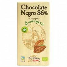100 гр. Био черен шоколад 86% CHOCOLATES SOLЕ