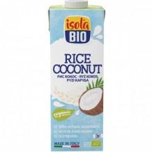 1 л. Био оризово-кокосова напитка ISOLA BIO