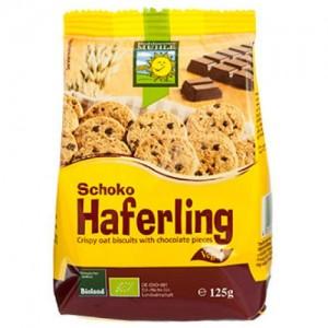 125 гр. Био овесени бисквити с шоколадови парченца Bohlsener Mühle