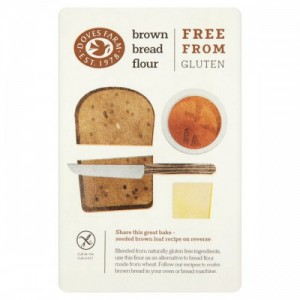 1 кг. Брашно за черен хляб без глутен DOVES FARM