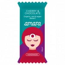 30 гр. Био суров веган десерт с череши и шоколад Amara