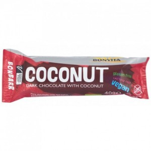40 гр. Био десерт с черен шоколад и кокос BONVITA