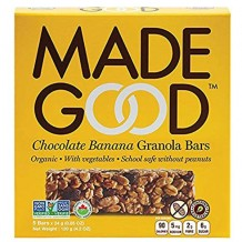 144 гр. Био мюсли барчета с шоколад и банан Made Good кутия 6 броя