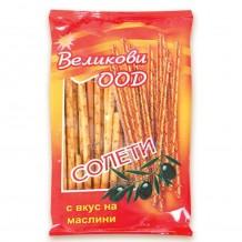 50 гр. Солети Великови с маслини