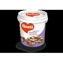 1 кг. Течен шоколад Fineti двуцветен