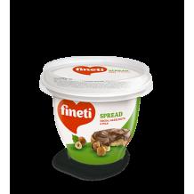 190 гр. Течен шоколад Fineti кафяв